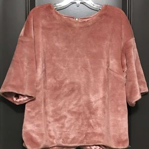 H&M Pink Polyester blouse